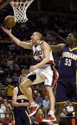 NBA: Trail Blazers 107, Pacers 105; Roy acumula 28 puntos