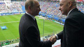 Rusia comienza despejando dudas en su ensayo general para el Mundial