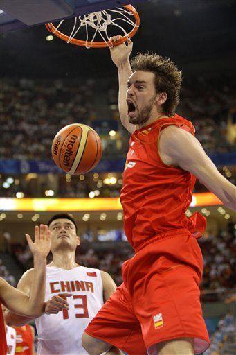 España dice que se fió demasiado contra China en básquet