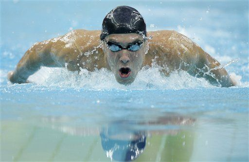 Phelps inicia su cosecha, China saca ventajas