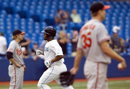 MLB: Azulejos 8, Orioles 5; cuadrangular de Encarnación