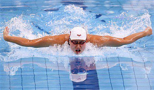 China Liu Zige rompe récord mundial de los 200 mariposa