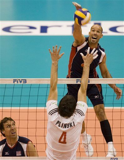 EEUU vence a Polonia en Liga Mundial de vóleibol