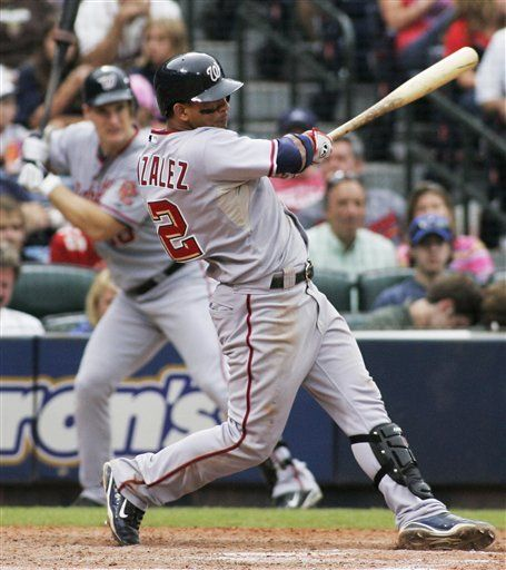 MLB: Nacionales 2, Bravos 1, 15 innings; González empuja victoria