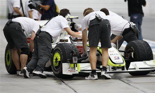 La lluvia llena de incógnitas las prácticas de la Fórmula Uno