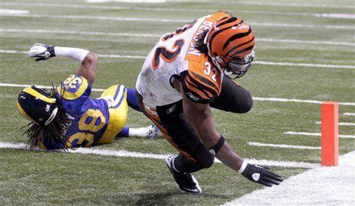 NFL: Bengals 20, Rams 13; Cincinnati frena a San Luis