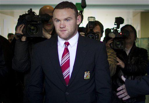 Euro: UEFA reduce la suspensión de Rooney a 2 partidos