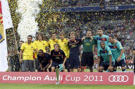 Thiago anota 2 y Barcelona vence al Bayern