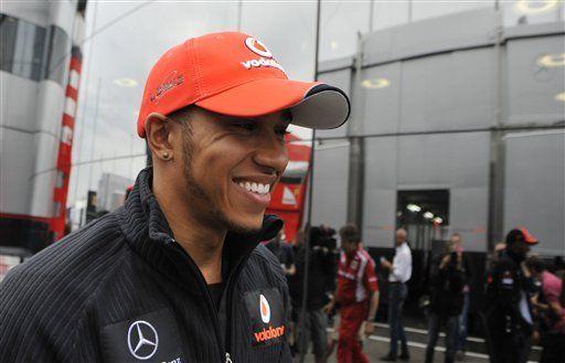 Hamilton registra mejor tiempo en primera práctica en Hungría