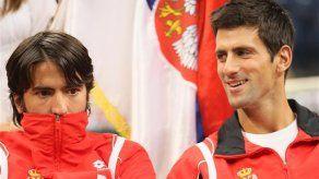 Davis: Djokovic enfrentará a Stepanek en sencillos