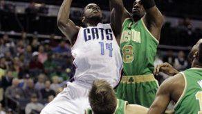 Bobcats vence a Celtics y rompe mala racha