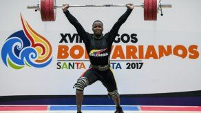Patinaje y pesas mantienen autoridad de Colombia en Juegos Bolivarianos