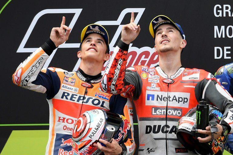 Lorenzo suma su segundo triunfo consecutivo por delante de Márquez y Rossi
