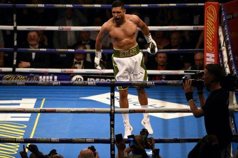 Colombiano Vargas será el próximo rival del antiguo campeón del mundo Amir Khan
