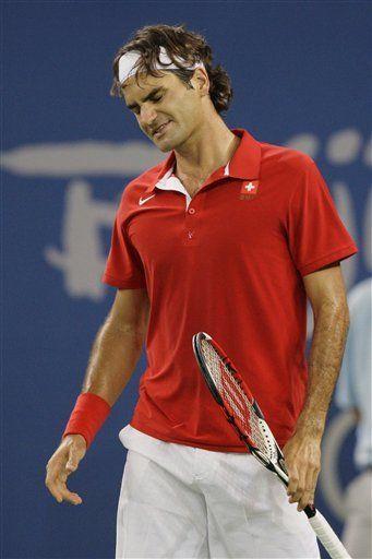 Federer cae ante Blake y se queda sin medalla en singles