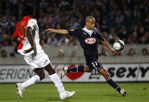 Burdeos supera 1-0 al Monaco y aumenta ventaja en Francia