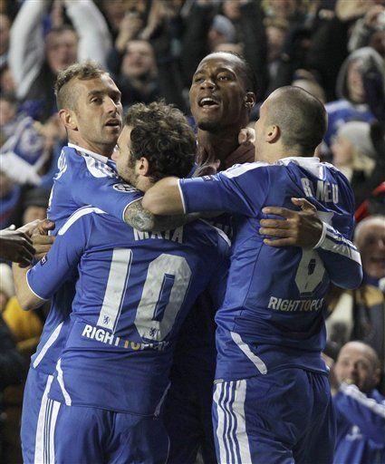 Campeones: Chelsea avanza y elimina al Valencia