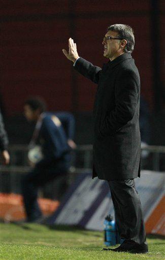 América: Martino dice choque con Brasil mostrará dónde estamos