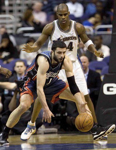 NBA: Wizards 95, Bobcats 93; Washington sorprende