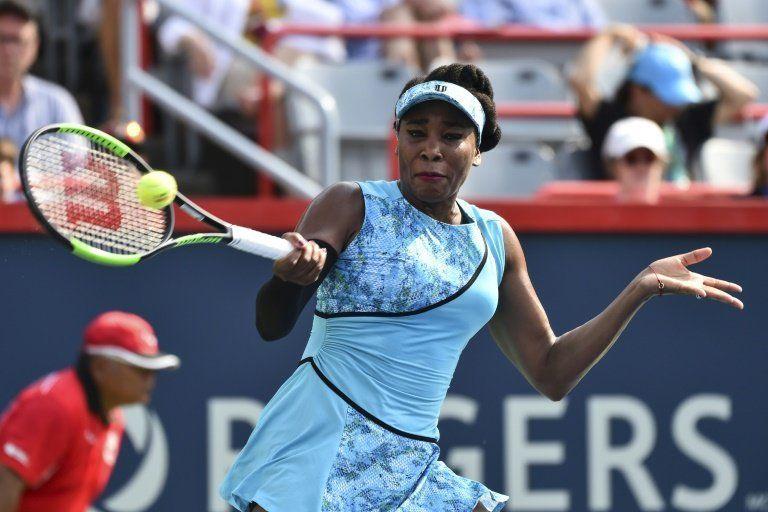 Venus Williams avanza a segunda ronda en Premier de Montreal