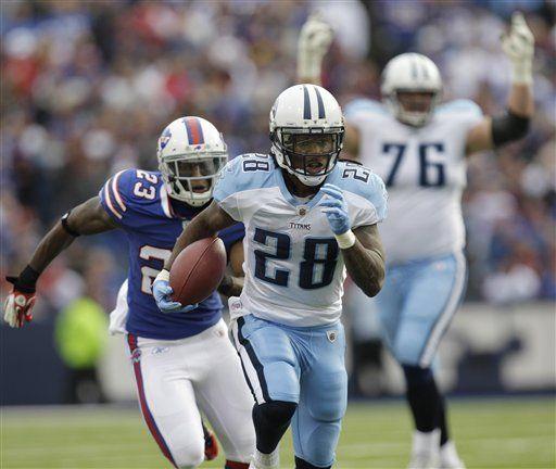 NFL: Titans 23, Bills 17; Johnson guía a Tenesí