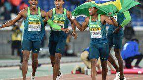 Brasil sorprende a Estados Unidos y gana el Mundial de relevos de 4x100 metros