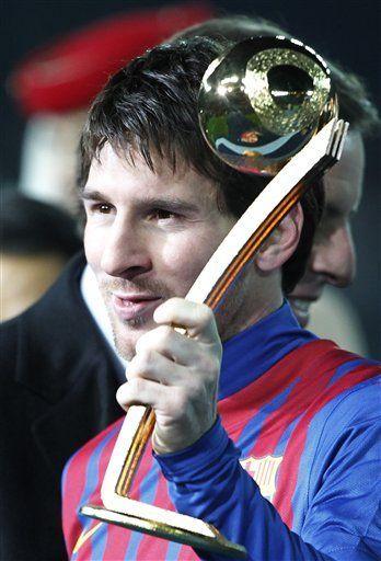 Messi feliz por haber coronado un año espectacular