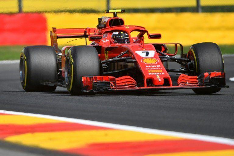 El Ferrari de Raikkonen domina los segundos libres en Bélgica