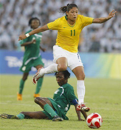 Brasil avanza al son de Cristiane
