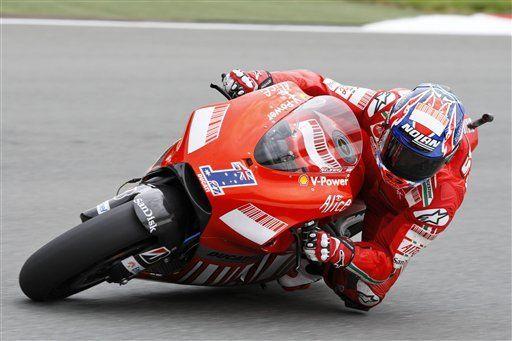 Moto GP: Stoner gana la pole del GP de Alemania