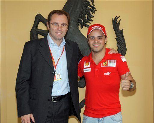 Ferrari: Los exámenes médicos de Massa salieron bien