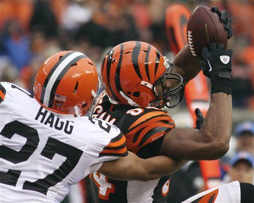 NFL: Bengals 23, Browns 20; agónico triunfo de Cincinnati