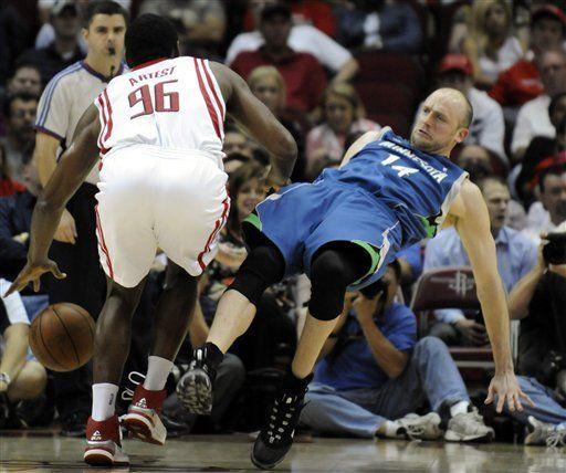 NBA: Rockets 107, Timberwolves 88