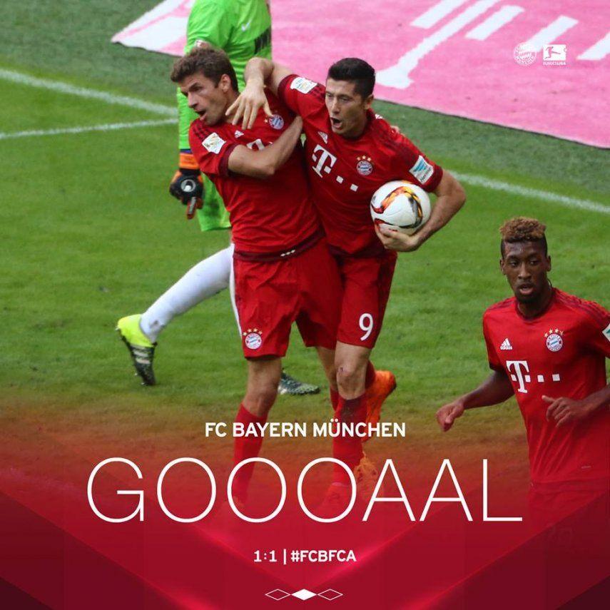 Bayern gana de penal en descuento y sigue en cabeza con Borussia