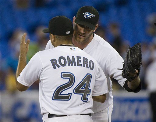 MLB: Azulejos 3, Orioles 0; Romero cumple buena labor