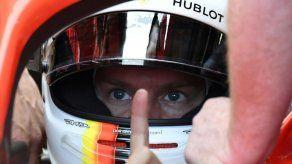 Vettel logra el mejor tiempo en los terceros ensayos libres de Bakú