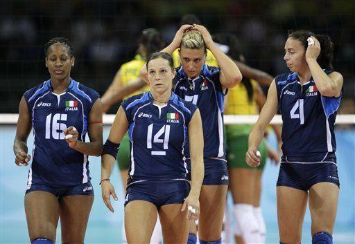 El dolor de la cubana que juega por Italia