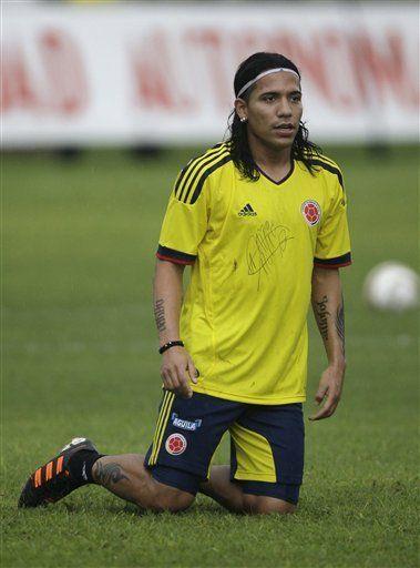 Mundial: Zúñiga y Robayo entrenan con Colombia