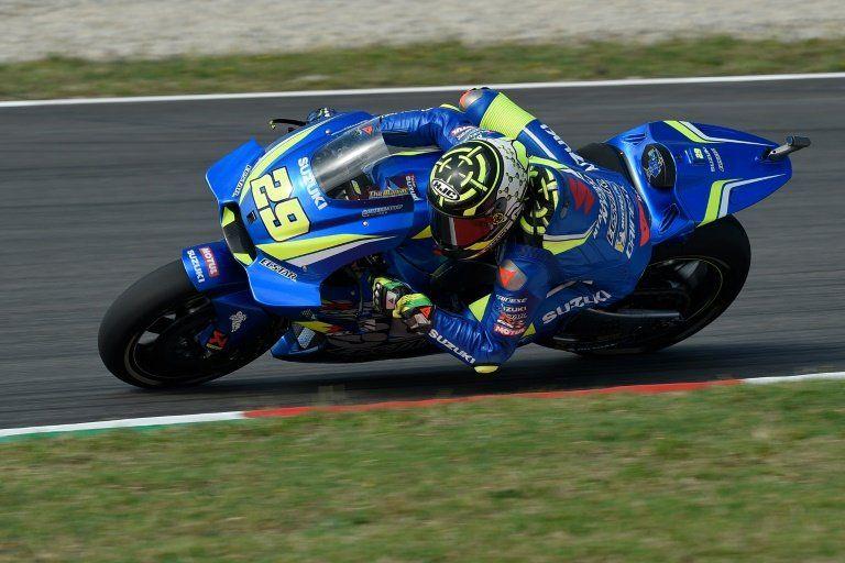 Iannone logra el mejor tiempo en la tercera sesión del GP de Alemania de MotoGP