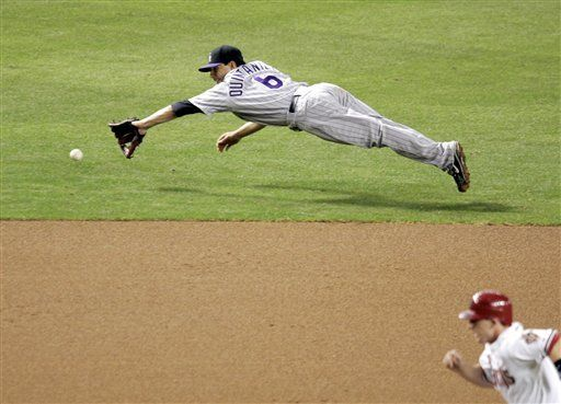 MLB: Diamondbacks 4, Rockies 3