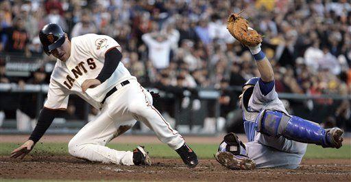 MLB: Gigantes 3, Dodgers 2