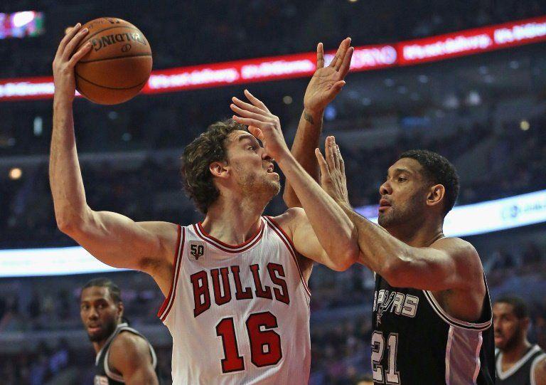 Gasol se echa a la espalda a los Bulls en la victoria sobre los Spurs