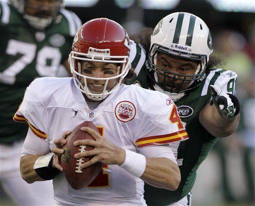 NFL: Jets 37, Chiefs 10; Sánchez lleva a Nueva York al triunfo