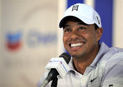 Tras mejorar, Woods disputa el torneo Chevron en California
