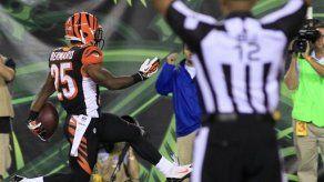 Novato da triunfo a Bengals sobre Steelers
