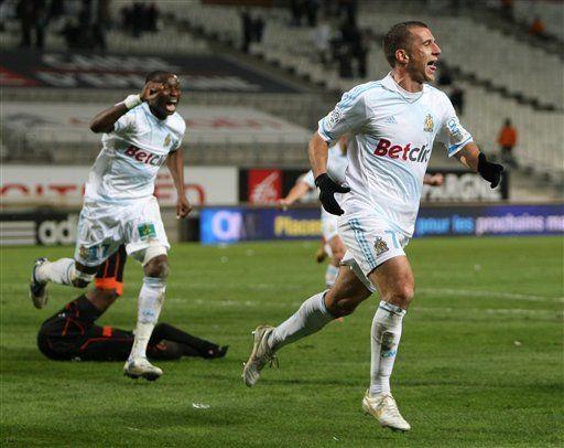 Marsella vence a Lorient y se acerca a puestos europeos