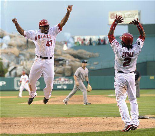 MLB: Angelinos 5, Yanquis 4, 11 innings; Mathis remolca triunfo