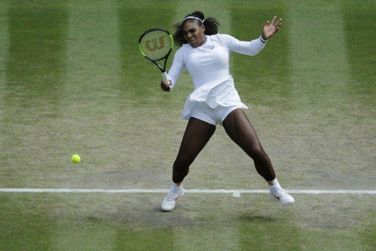 Serena jugará su 10ª final de Wimbledon diez meses después de dar a luz
