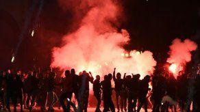 Cinco detenidos por incidentes en el marco del Marsella-Lazio