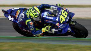 Rossi domina la primera tanda de entrenamientos libres en GP de Cataluña
